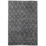 Jaipur Living Casablanca Hand-Knotted Trellis Gray/ White Area Rug (8'X10') - RUG103215