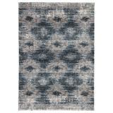 Jaipur Living Ciara Geometric Gray/ Blue Area Rug (2'X3') - RUG141687