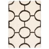 Jaipur Living Vita Geometric Ivory/ Dark Gray Area Rug (2'X3') - RUG141067