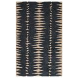 Luli Sanchez by Jaipur Living Tear Drops Handmade Geometric Gray/ Beige Area Rug (5'X8') - RUG115842