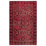 Jaipur Living Chaya Indoor/ Outdoor Medallion Red/ Black Area Rug (2'X3') - RUG142989