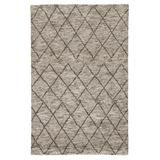 Jaipur Living Batten Handmade Trellis Gray/ Brown Area Rug (2'X3') - RUG128138