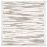 Jaipur Living Linea Abstract White Square Area Rug (6'X6') - RUG134561
