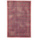 Jaipur Living Concord Hand-Knotted Medallion Red/ Blue Area Rug (9'X12') - RUG129794