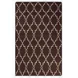 Jaipur Living Piper Handmade Trellis Brown/ White Area Rug (9'X12') - RUG128223