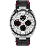 Chronograph Promaster Tsuno Racer Black Leather Strap Watch 45mm - Black - Citizen Watches