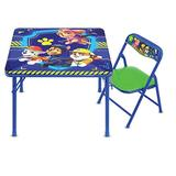 Paw Patrol Junior Table & Chair Set, Folding Table, Padded Chairs