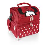 Disney's Minnie Mouse Lunch Tote by Picnic Time, Red