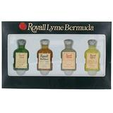 Royall Lyme Bermuda Collection by Royall Fragrances 4 Piece Mini Variety Set men