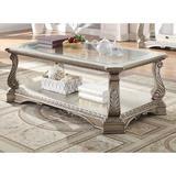 Astoria Grand Bridewell Coffee Table Wood/Glass in Brown, Size 20.0 H x 54.0 W x 30.0 D in   Wayfair D27728A639C646488BF7560DCEDD25F3