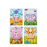 Melissa & Doug Jigsaw Puzzle Set: Farm