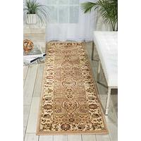 """Nourison Ki11 Antiquities (ANT03) Cream Runner Area Rug, 2-Feet 2-Inches by 7-Feet 6-Inches (2'2"""" x"""