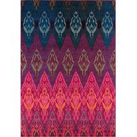 Momeni Rugs CASABCAS-8MTI2030 Casa Collection, Soft Blend Contemporary Area Rug, 2' x 3', Multicolor