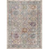Well Woven Allure Fiona Panel Persian Mosaic Ivory Rug Polyester/Polypropylene in White, Size 63.0 H x 47.0 W x 0.25 D in   Wayfair AE-11-4