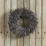 """Preserved Lavender Wreath 20"""" - Ballard Designs"""