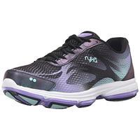 Ryka Women's Devotion Plus 2 Walking Shoe Black/Purple 8.5 M US