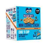 Belgian Boys Cookies N - Chocolate Chip Cookie Stash - 1 Box of 5