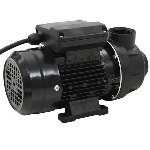 vidaXL Poolpumpe Schwarz 0,25 PS 7500 L/h