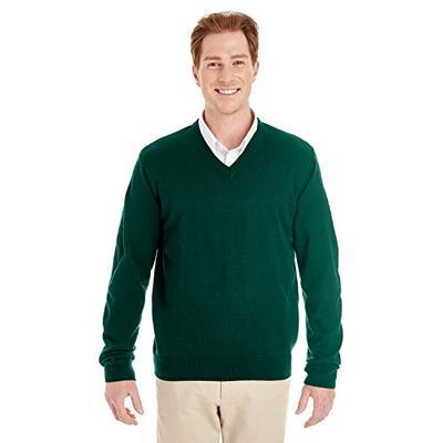 Harriton Mens Pilbloc V-Neck Sweater (M420) -HUNTER -2XL