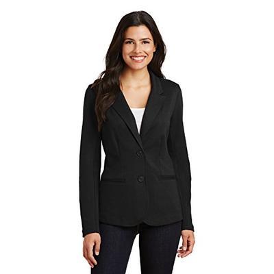 Port Authority Women's Knit Blazer LM2000 Black Small