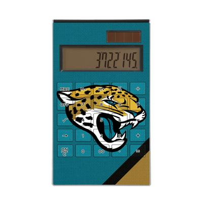 Jacksonville Jaguars Diagonal Stripe Desktop Calculator