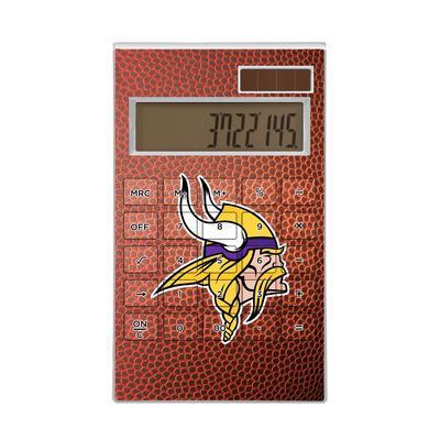 Minnesota Vikings Football Design Desktop Calculator