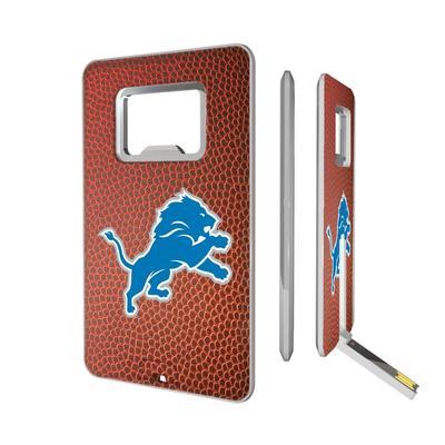 Detroit Lions Football Credit Card USB Drive & Bottle Opener