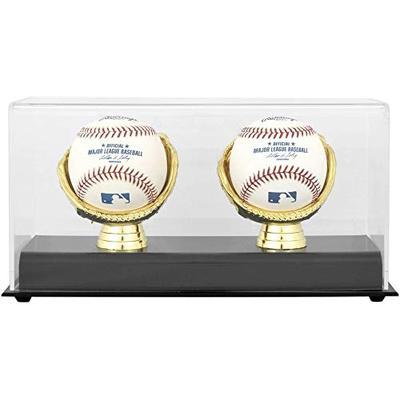 Gold Glove MLB Double Baseball Display Case