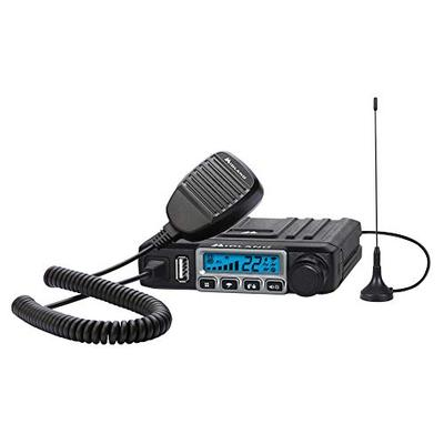 MXT115, 15 Watt GMRS MicroMobile Two-Way Radio - 8 Repeater Channels, 142 Privacy Codes, NOAA Weathe