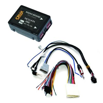 CRUX SWRNS-63U Radio Replacement Interface (for select Nissan vehicles 2007-2012)