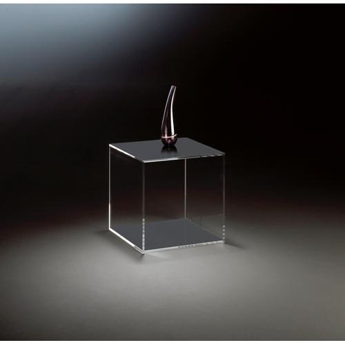 Places of Style Beistelltisch Würfel, aus Acrylglas grau Beistelltische Tische