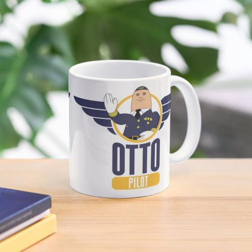 Otto der aufblasbare Pilot Tasse