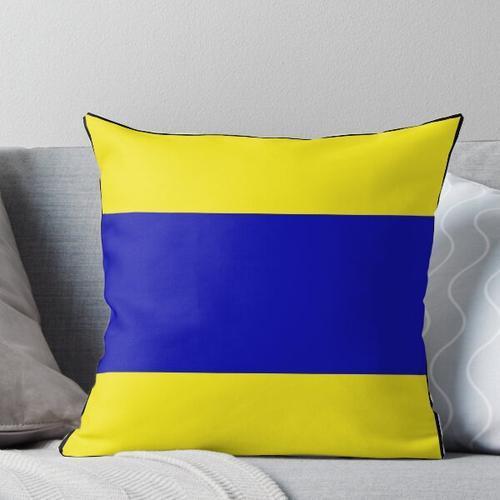 maritime Signalflaggen Kissen