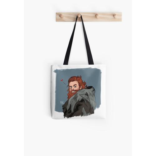 Riesen verliebt Tasche