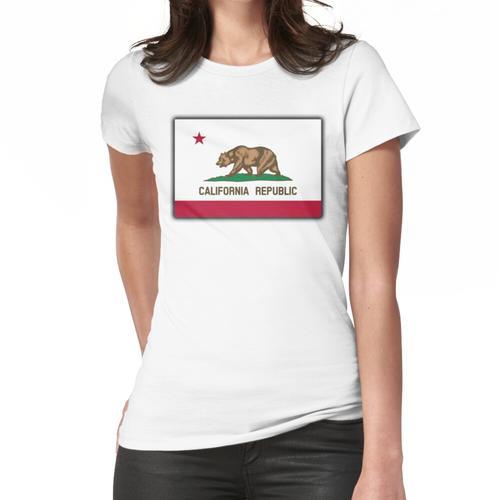 KALIFORNIEN,. Kalifornische Flagge, Flagge von Kalifornien, kalifornische Republik, A Frauen T-Shirt
