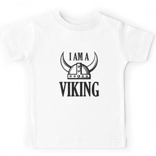 Ich bin ein Wikinger Kinderbekleidung