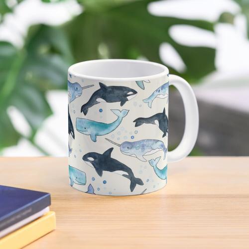 Wale, Orcas & Narwale Tasse