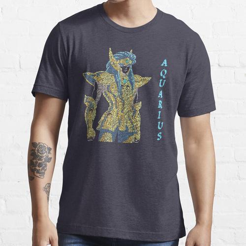 Heiliges Seiya - Ritter des Zodiac-Goldheiligen - Wassermann Essential T-Shirt