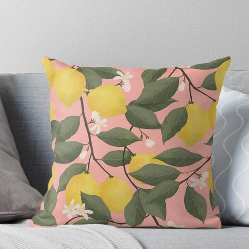 Zitronenbaum Kissen