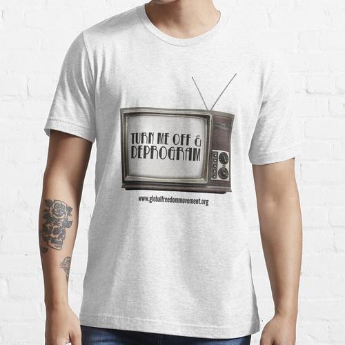 Trennen Sie den Fernseher Essential T-Shirt