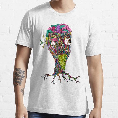 Nikotinfarbe Essential T-Shirt