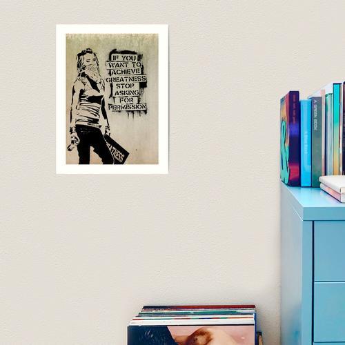 Banksy, Größe Kunstdruck