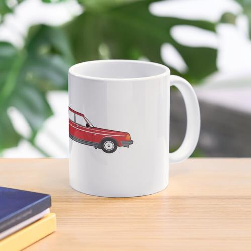 Volvo 240 Wagon Burnout Tasse