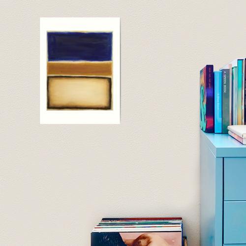 Rothko Kunstdruck