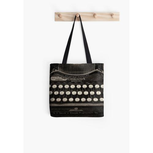 Vintage Schreibmaschinentastatur Tasche
