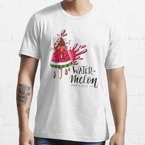 Wassermeloneneis am Stiel Essential T-Shirt