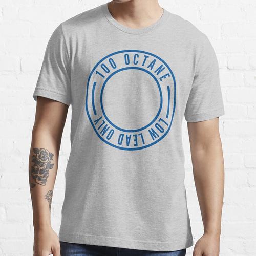 100LL - Avgas Essential T-Shirt
