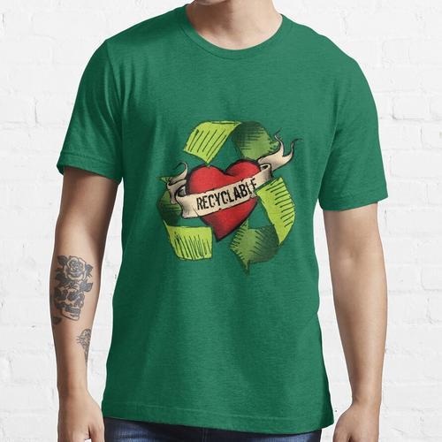 Ich bin recyclebar Essential T-Shirt