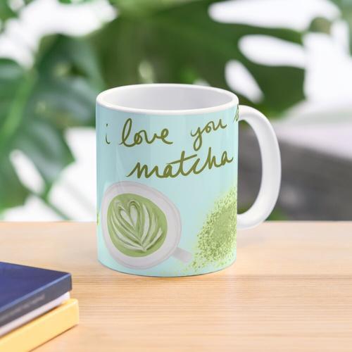 Ich liebe dich so Matcha Tasse