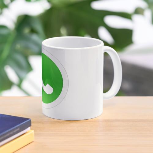 Whatsapp-Logo Tasse